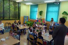 Przedszkolaki z wizytą szkole